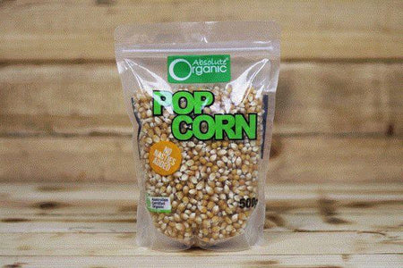 Absolute Organic Organic Popping Corn 500g Pantry > Grains, Rice & Beans