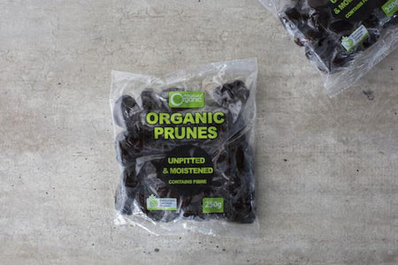 Absolute Organic Organic Prunes 250g Pantry > Dried Fruit & Nuts
