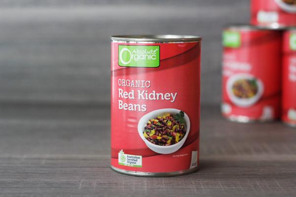 Absolute Organic Organic Red Kidney Beans 400g Pantry > Canned Goods