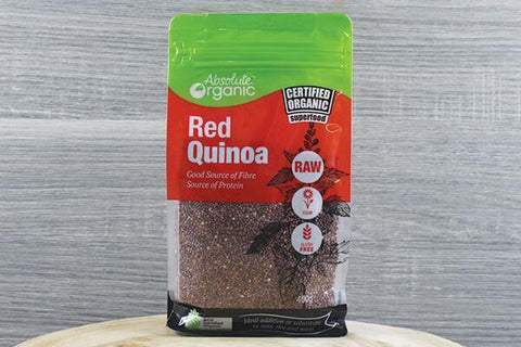 Absolute Organic Organic Red Quinoa 400g Pantry > Grains, Rice & Beans