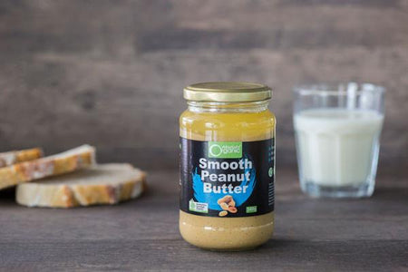 Absolute Organic Organic Smooth Peanut Butter 340g Pantry > Nut Butters, Honey & Jam