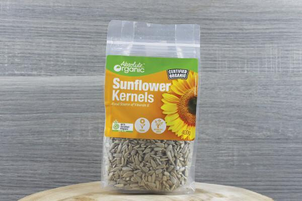 Absolute Organic Organic Sunflower Kernels 400g Pantry > Grains, Rice & Beans