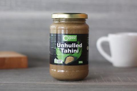 Absolute Organic Organic Tahini Unhulled 340g Pantry > Condiments