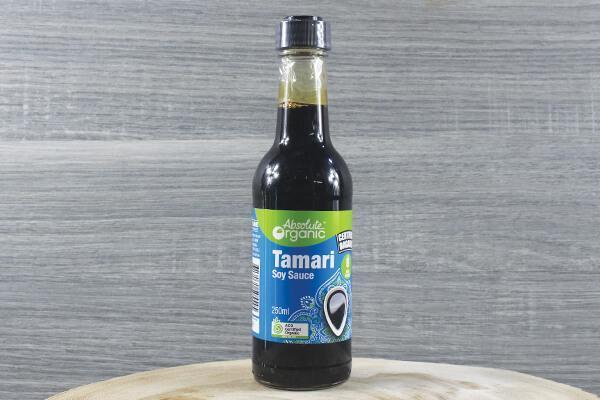 Absolute Organic Organic Tamari 250ml Pantry > Condiments