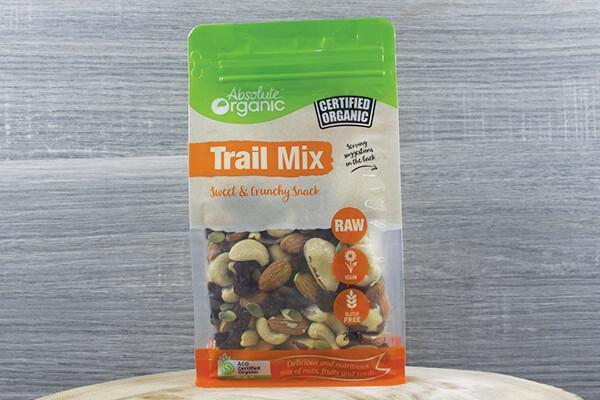 Absolute Organic Organic Trail Mix 250g Pantry > Dried Fruit & Nuts