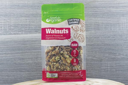Absolute Organic Organic Walnuts 250g Pantry > Dried Fruit & Nuts