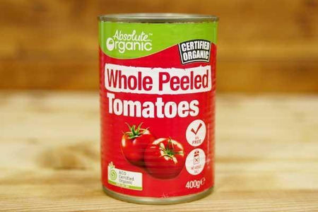 Absolute Organic Organic Whole Peeled Tomatoes 400g Pantry > Canned Goods