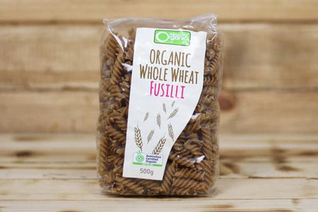 Absolute Organic Organic Wholemeal Fusilli 500g Pantry > Pasta, Sauces & Noodles