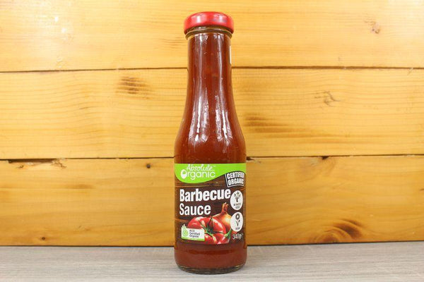 Absolute Organic Orgnaic BBQ Sauce 340g Pantry > Condiments