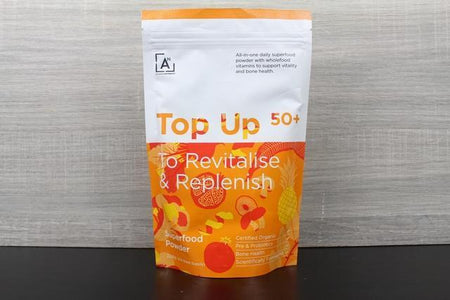 Activated Nutrients Top Up 50+ Superfood 4-8 Week Supply 224g Pantry > Protein Powders & Supplements