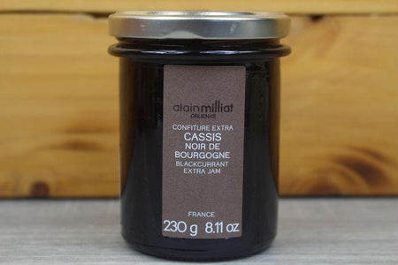 Alain Milliat Blackcurrant Jam 230g Pantry > Nut Butters, Honey & Jam
