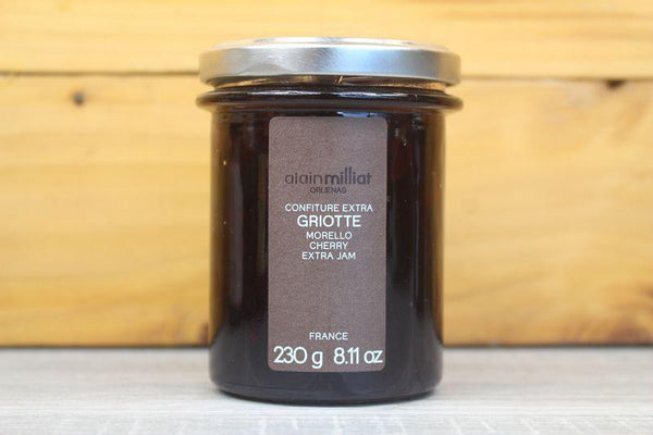 Alain Milliat Morello Cherry Jam 230g Pantry > Nut Butters, Honey & Jam