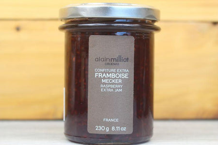Alain Milliat Raspberry Jam 230g Pantry > Nut Butters, Honey & Jam
