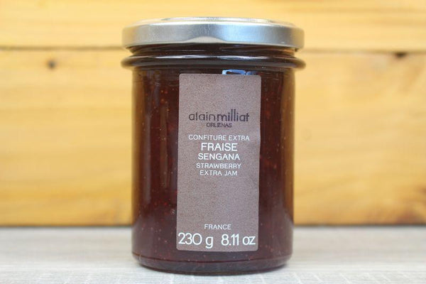 Alain Milliat Strawberry Jam 230g Pantry > Nut Butters, Honey & Jam