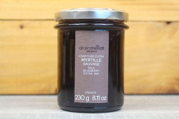 Alain Milliat Wild Blueberry Jam 230g Pantry > Nut Butters, Honey & Jam