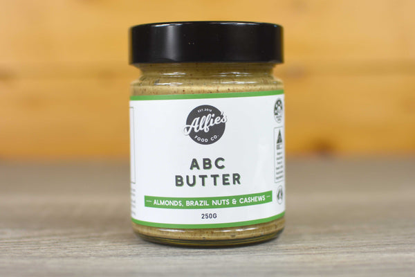 Alfie's ABC Butter 250g Pantry > Nut Butters, Honey & Jam