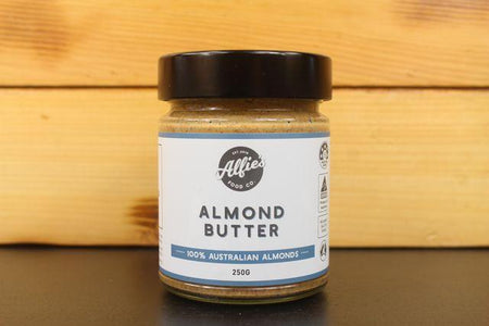 Alfie's Alfie's Almond Butter 250g Pantry > Nut Butters, Honey & Jam
