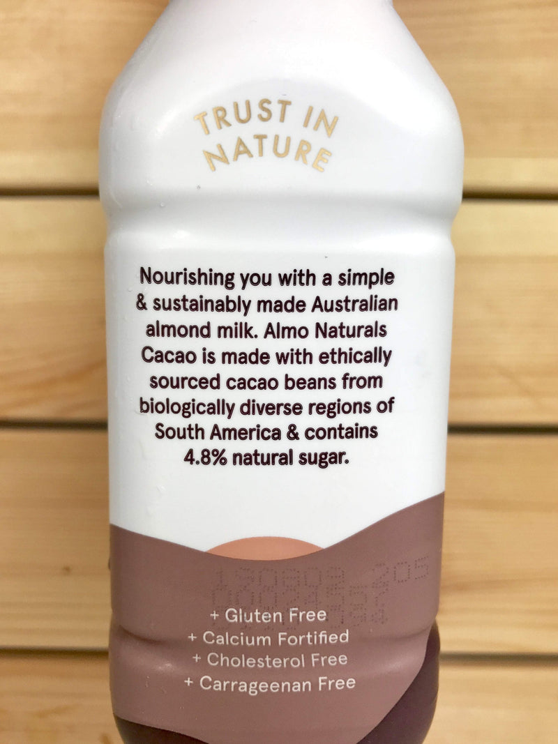 Almo Almo Naturals Cacao 300ml Dairy & Eggs > Dairy Alternatives