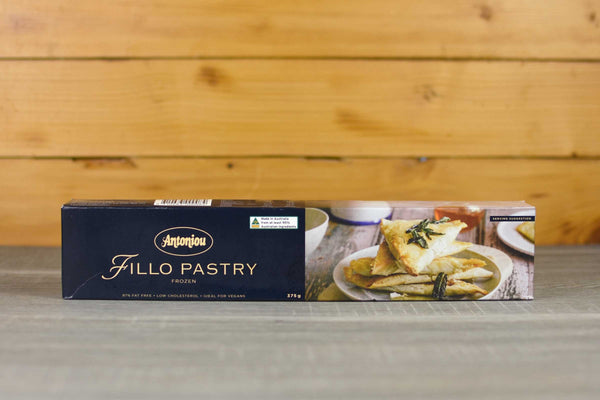 Antoniou Frozen Fillo Pastry 375g Freezer > Baking & Cooking Ingredients