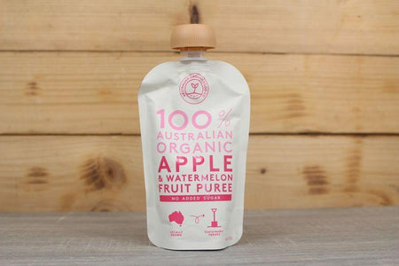 AOFC AOFC Apple & Watermelon Puree 120g Pantry > Baby Food & Kids Corner