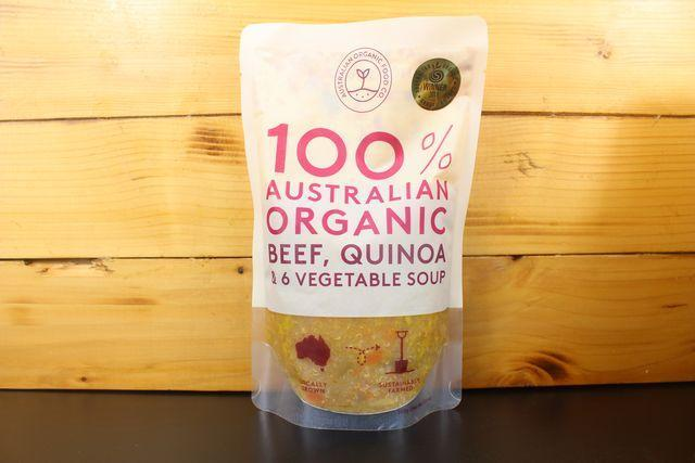 AOFC AOFC Beef Quinoa & Veg Soup 500g Pantry > Broths, Soups & Stocks