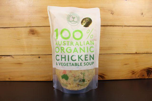 AOFC AOFC Chicken & Vegetable Soup 500g Pantry > Broths, Soups & Stocks