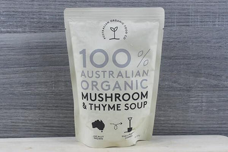 AOFC AOFC Mushroom & Thyme Soup 330g Pantry > Broths, Soups & Stocks