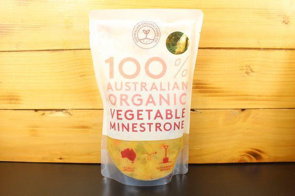 AOFC AOFC Veg Minestrone Soup 500g Pantry > Broths, Soups & Stocks
