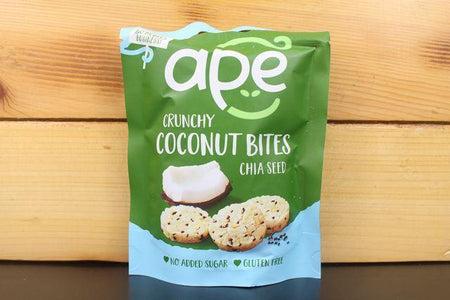 Ape Coconut Ape Chia Seed Coconut Bites 30g Pantry > Cookies, Chips & Snacks