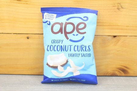Ape Coconut Lightly Salted Coconut Curls 20g Pantry > Chips & Savoury Snacks