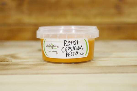 Arlingtons Pesto Roast Capsicum 150g Deli > Fresh Sauces, Condiments & Dressings