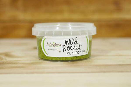 Arlingtons Pesto Wild Rocket 150g Deli > Fresh Sauces, Condiments & Dressings