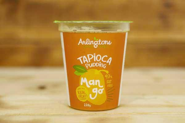 Arlingtons Tapioca Pudding Mango 220g To Go > Desserts & Pastries
