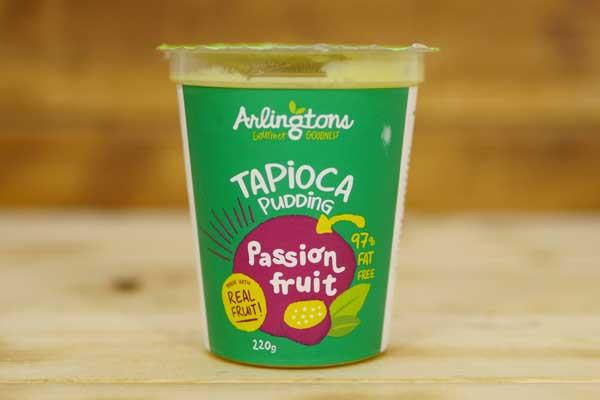 Arlingtons Tapioca Pudding Passionfruit 220g To Go > Desserts & Pastries
