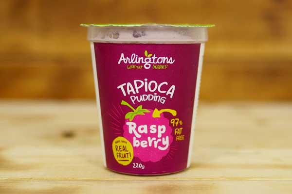 Arlingtons Tapioca Pudding Raspberry 220g To Go > Desserts & Pastries