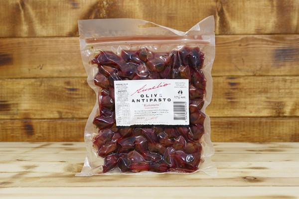 Aurelio Marinated Kalamata Olives 325g Pantry > Antipasto, Pickles & Olives