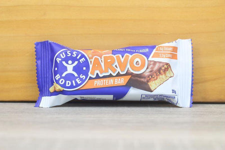Aussie Bodies Arvo Peanut Toffee Protein Bar 32g Pantry > Granola, Cereal, Oats & Bars