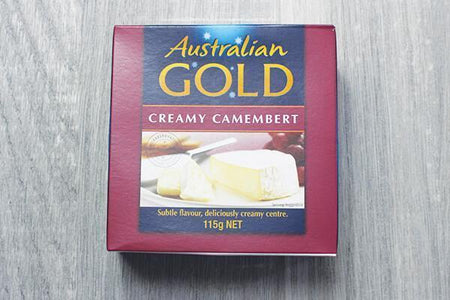 Australian Gold Australian Gold Long Life Creamy Camembert 115g (12) Dairy & Eggs > Cheese