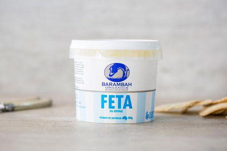 Barambah Organics Feta in Brine 200g* Dairy & Eggs > Cheese