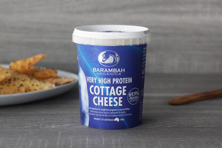Barambah Organics High Protein Cottage Cheese 500g* Dairy & Eggs > Other Creams & Cheeses