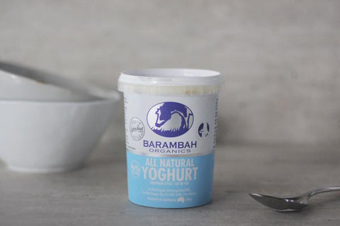 Organic All Natural Yoghurt 1kg*