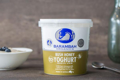 Organic 99% Fat Free Natural Yoghurt 500g*