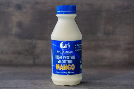 Barambah Organics Organic High Protein Mango Smoothie 375ml* Drinks > Milks & Dairy Alternatives
