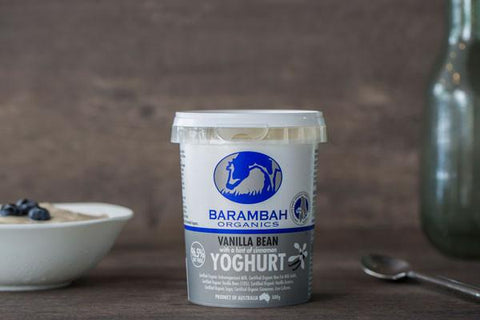 Organic Sweetened Greek Yoghurt 500g*