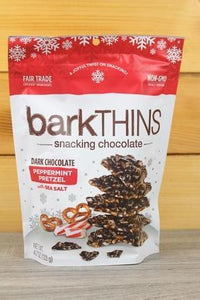 Barkthins Bark Thin Dark Chocolate Peppermint Pretzel 4.7oz Pantry > Confectionery