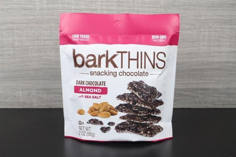 Bark Thins Dark Choc Almond 10oz