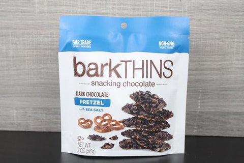 Bark Thins Dark Choc Pretzel 10oz
