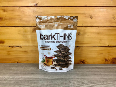 Barkthins Barkthin Dark Chocolate Gingerbread 4.7oz Pantry > Confectionery