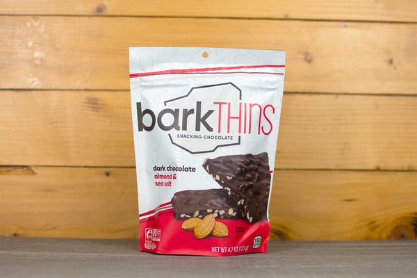 Barkthins Dark Chocolate Almond with Sea Salt 133g/4.7oz Pantry > Confectionery