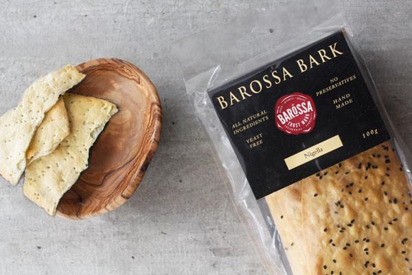 Barossa Kitchen Nigella Barossa Bark 100g Pantry > Biscuits, Crackers & Crispbreads